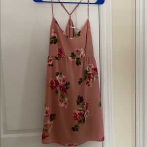 UO (kimchi blue) pink floral dress NWT